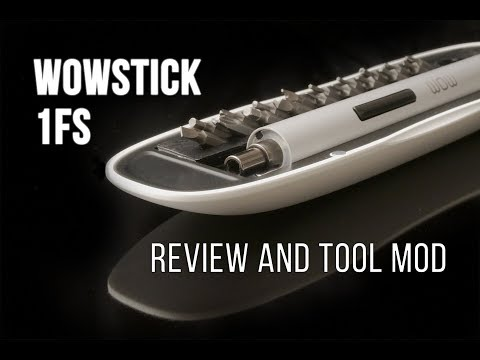 Fancy Screw Driver! Xiaomi Wowstick 1FS Electric Screw Driver review and tool mod(From Banggood)