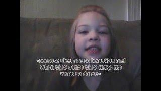 Why Kiah wants to be a ballerina...