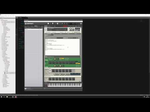 How to bypass Kontakt effects with scripted buttons and keyswitches