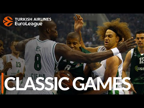 Classic Games: 2008-09, Playoffs G1, Panathinaikos vs. Siena