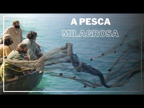 A Pesca Milagrosa Jesus Cristo The Miraculous Fishing.