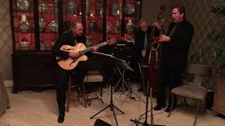 Jazz Trio on a Marble Floor