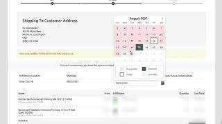 How to Request a Delivery Date - Bulk Buy/Discount Program