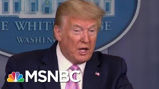 As Country Reaches Grim Milestone, Trump Moves Goal Post | Morning Joe | MSNBC