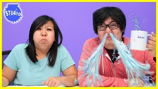 TRY NOT TO LAUGH CHALLENGE! Water came out my NOSE !