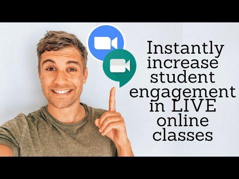 Teacher Tip: Student Engagement in LIVE online classes