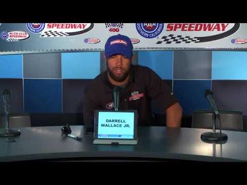 2018 NASCAR Fontana Cup and Xfinity pre-race Q&A
