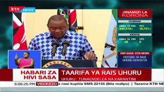 President Kenyatta\'s Full address on COVID-19 in Kenya today