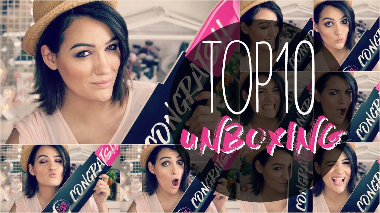 ÚLTIMO UNBOXING Top10 Nyx Spain Face Awards #teamnona