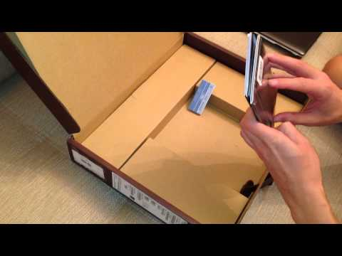 Asus VivoBook S451LB unpacking
