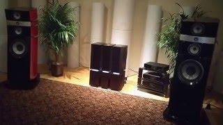 Overture showcasing Naim Audio Statement Amps & Focal Speakers