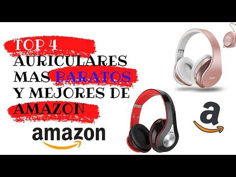 TOP 4 Mejores Auriculares INALAMBRICOS BLUETOOTH de amazon MAS BARATO 2020!!