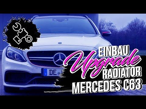 Wagner Tuning - Mercedes C63 Upgrade Radiator - Installation Video