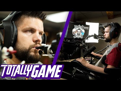 Skills: Paralyzed Gamer Goes Ham Playing COD Warzone With His Mouth!