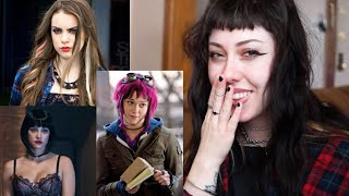 reviewing grunge, goth and alternative fashion in movies/tv shows