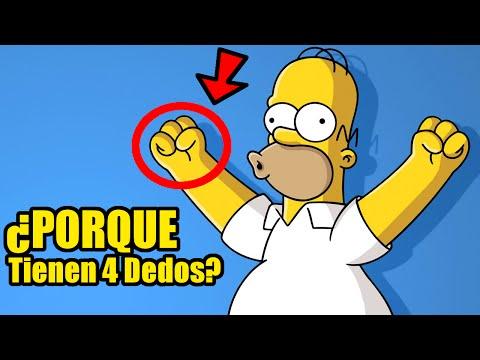 ¿Porque los dibujos animados tienen 4 dedos y su conexión con los errores?