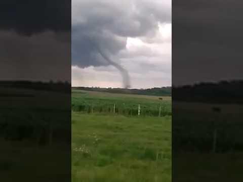 Tornado Chapicuy, Paysandu.  Febrero 2017