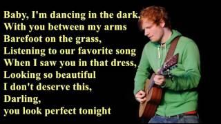 Perfect   Ed Sheeran [Lyrics]
