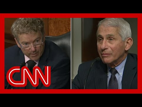 Fauci fires back at Sen. Paul: You're not listening to the CDC director