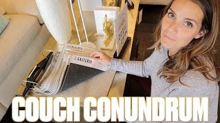 FURNITURE SHOPPING | FINDING THE PERFECT FAMILY COUCH | SEARCHING FOR SOFAS AND SECTIONALS