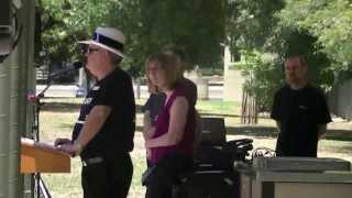 preview picture of video 'Benalla WRD 2013   Neil Stott Speech'