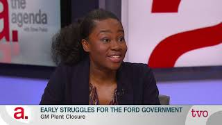 Early Struggles for the Ford Government