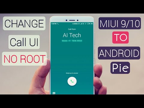 Change Incoming/Outgoing Calling Screen On Miui 10 | NO ROOT