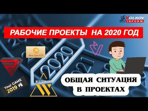 Рабочие матричные проекты на 2020 год, ситуация в проектах, партнерки плюс пара скамов
