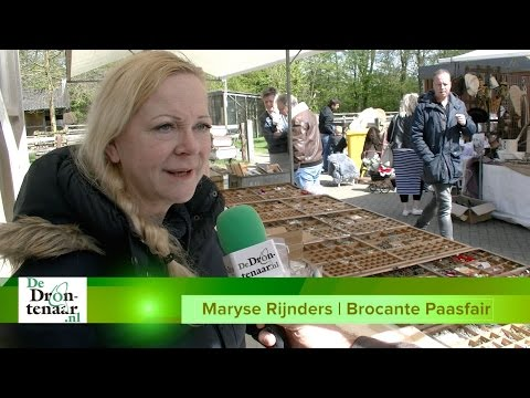 VIDEO | Maryse Rijnders beleeft een topdag bij de Brocante Paasfair in Dronten