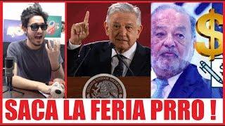 """Se acaba el """"Huachicoleo de cuello blanco"""" AMLO firma decreto y Carlos Slim ahora si TIEMBLA !"""