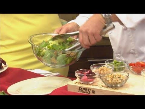 VIDEO: Cheesecake Factory's Vegan Cobb Salad
