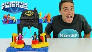 Imaginext DC Super Friends Battle Batcave Set ! || Toy Review || Konas2002