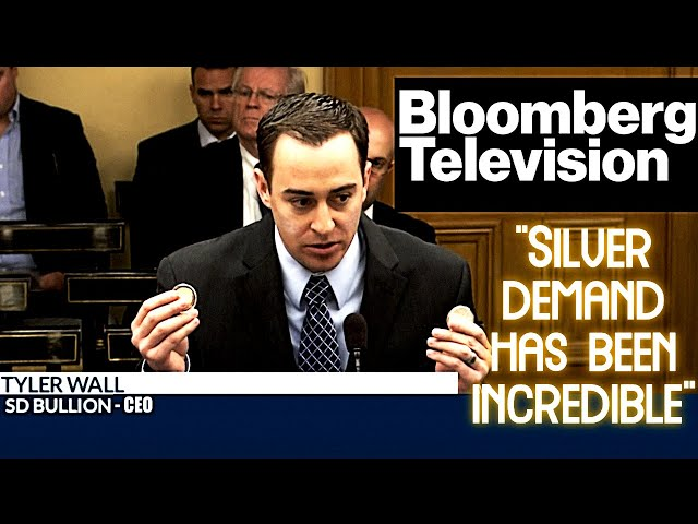 SD Bullion CEO Gives Silver Squeeze Update on Bloomberg TV