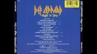 You Got Me Runnin - Def Leppard (High 'N' Dry) 1981