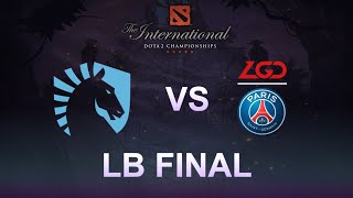 [The International 9] Team Liquid vs PSG.LGD - Game 3 - LB Final - #TI9FR