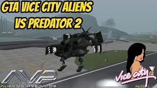 GTA Vice City Aliens Vs Predator 2 With trainer Download Install & Gameplay