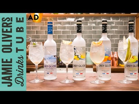 Video Grey Goose Le Grand Fizz Cocktail - Four Ways | Joe McCanta