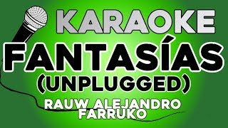 KARAOKE (Fantasías Unplugged   Rauw Alejandro,Farruko)