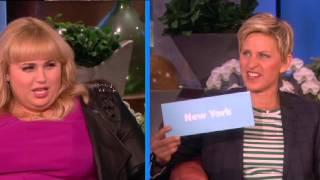 Rebel Wilson Plays An Accent Game On Ellen Show