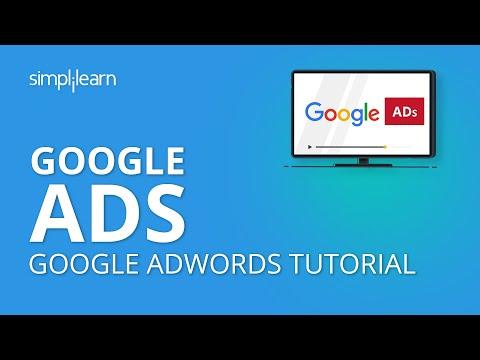 Google AdWords Tutorial 2020 | PPC Advertising ... - YouTube