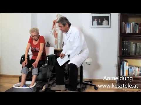 Mit Osteochondrose der Halswirbelsäule Symptome diagnostiziert