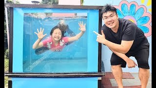 Dunk Tank Game with Bug's Family