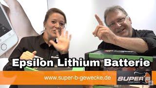 Super B Epsilon Lithium Batterie / womoclick