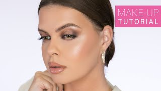 Bronze Goddess Look | Full Face Make-up Tutorial