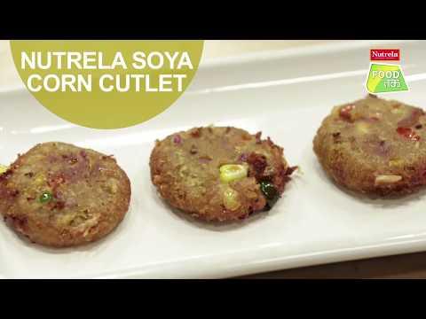 Nutrela Soya Corn Cutlet