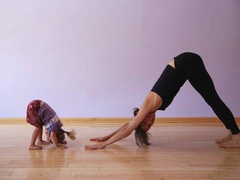 Фитнес с ребенком до года и больше