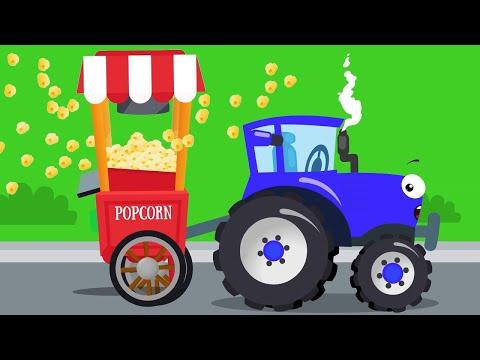 Der Traktor und Freunde - die Autos für Kinder - Bagger Kinderfilm deutsch