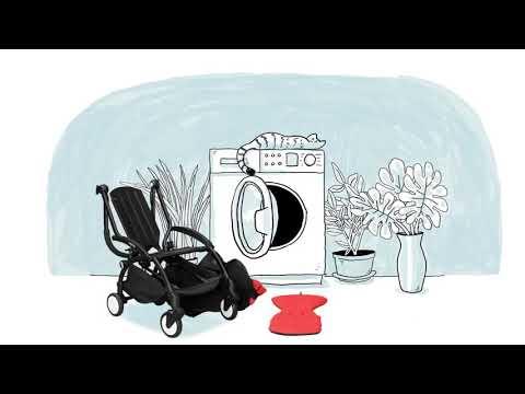 Babyzen Рама коляски YOYO+  цв. белый