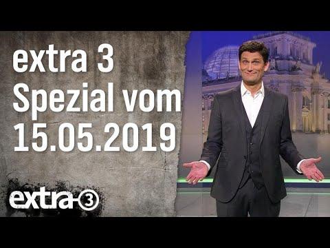 Extra 3 Spezial: Das Beste der vergangenen Monate   15.05.2019   extra 3   NDR