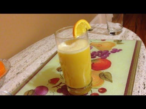 Video HOW TO MAKE FRESH ORANGE JUICE